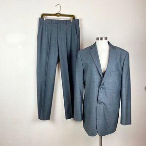 Wilke Rodriguez   Modern Fit Three Piece Suit